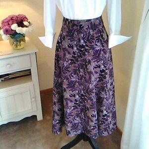 Christopher and Banks Midi Skirt